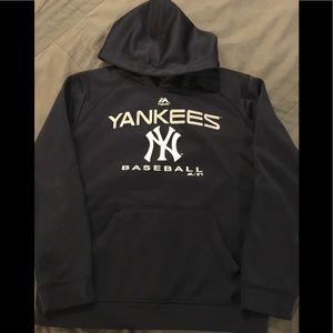 Youth Yankees hooded sweatshirt